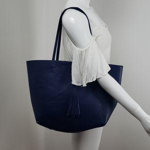 Reversible Street level large tote bag